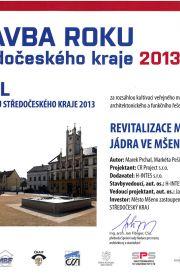 Mšeno: Stavba roku - 2013