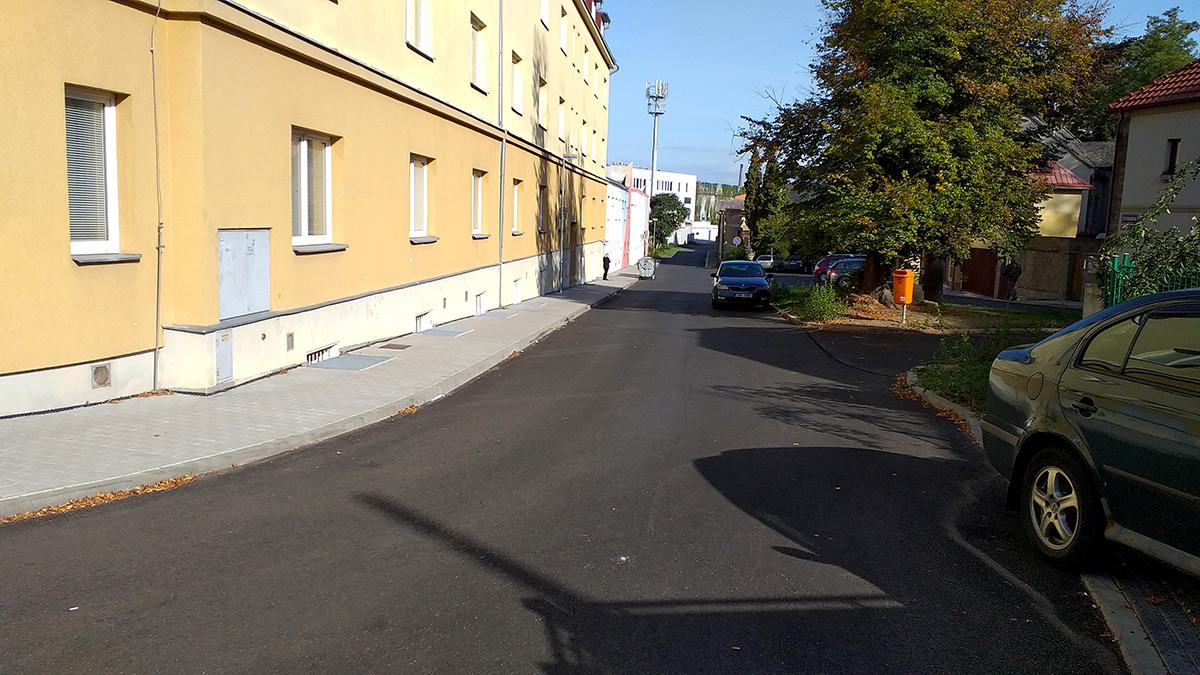 Náměstí před Nadějí Mladá Boleslav