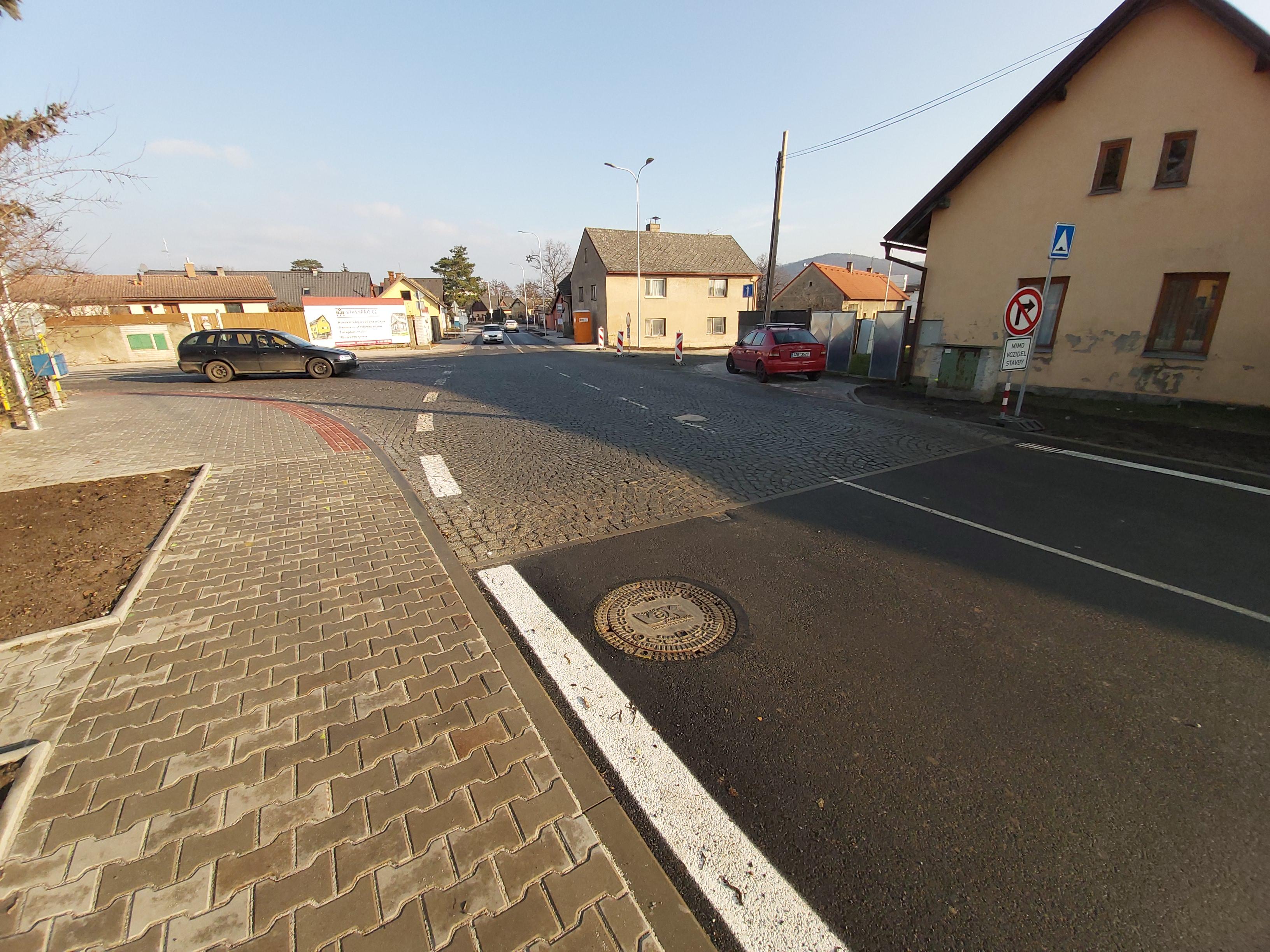 Oprava místní komunikace Bezděčín