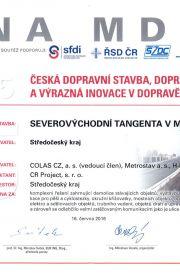 Česká dopravní stavba - 2015
