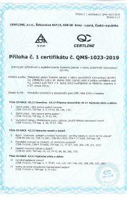 certifikace resortního systému jakosti pro vybrané obory pozemních komunikací MDS ČR