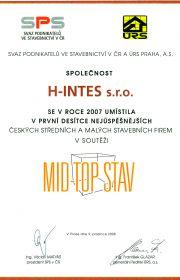 MID-TOP-STAV - 2007